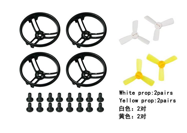 1.9 pollice 1935 Elica Prop Protezione Della Protezione Del Respingente per KingKong Drone Quadcopter Tutto Surround F21479