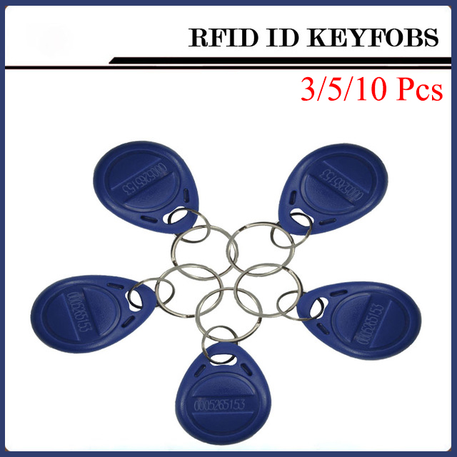 3/5/10pcs RFID Card 125kHz RFID Key Id Card Nfc Tags Door Entry Nfc Card For Access Control System Timeclock 125khz rfid proximity id card thin card rfid tags id cards door control entry access em card