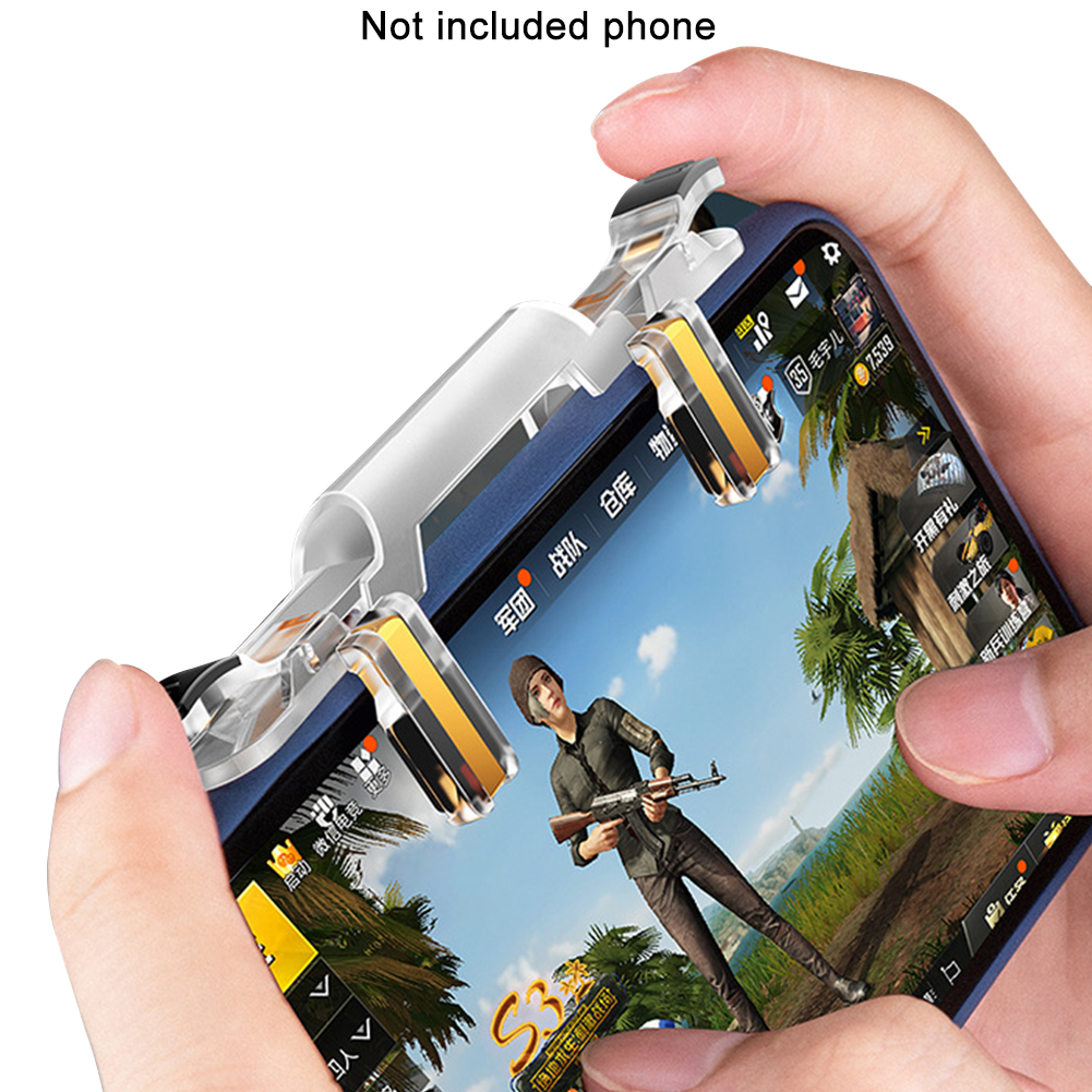 Button Fire For PUBG Portable Mobile Game Gaming Trigger Aim Key Controller
