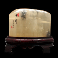 7 fold Guangxi Iceland spar calcite stone ornaments ornamental stone town house feng shui home Decoration