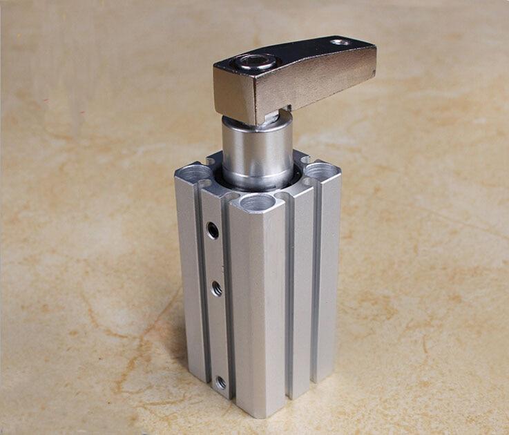 bore 25mm *20mm stroke MK smc type pneumatic cylinder Rotary clamp cylinder smc type pneumatic solenoid valve sy5120 3lzd 01