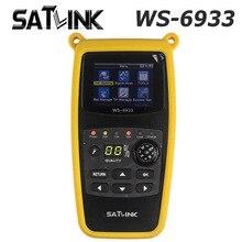 Original Satlink Satélites Del Buscador de Satlink WS-6933 DVB-S2 FTA C y KU Band Satélite Digital del Metro Del Buscador de WS 6933 envío gratis