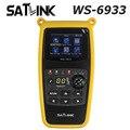 Original satlink ws-6933 dvb-s2 fta c y ku band satélite digital buscador de medidor envío libre