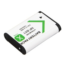 NP-BX1 NP BX1 NPBX1 Camera Battery Pack for Sony DSC RX1 RX100 M3 M2 RX1R GWP88 PJ240E AS15 WX350 WX300 HX300 HX400 1350mAh