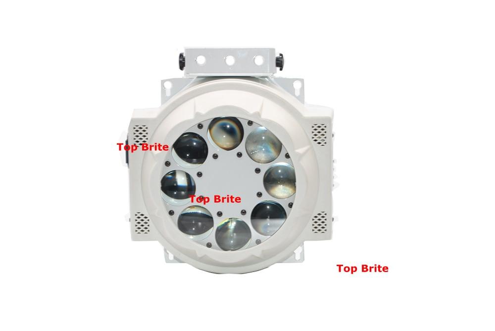 2 XLot 8 * 3 W Cree Led Lamp 8 Ogen Patroon Licht RGBW 4 Kleur - Commerciële verlichting - Foto 2