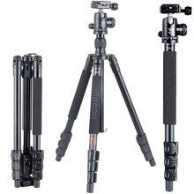 Free shipping Hot sale cheap Matton T-224+BM-10 Portable Tripod&ball Head and QR Plate ARCA For Digital/Video