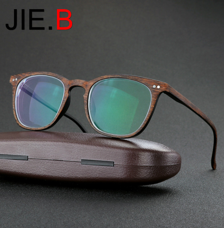 JIE B Brands Retro Myopia Eyeglasses Hot Optical Men Women student Eyewear prescription Glasses Frame 1 0 1 5 2 0 2 5 3 0 3 5 4 in Men 39 s Eyewear Frames from Apparel Accessories