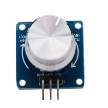 Adjustable Potentiometer Rotary Angle Sensor Module For Arduino For RC Toys Models(China)