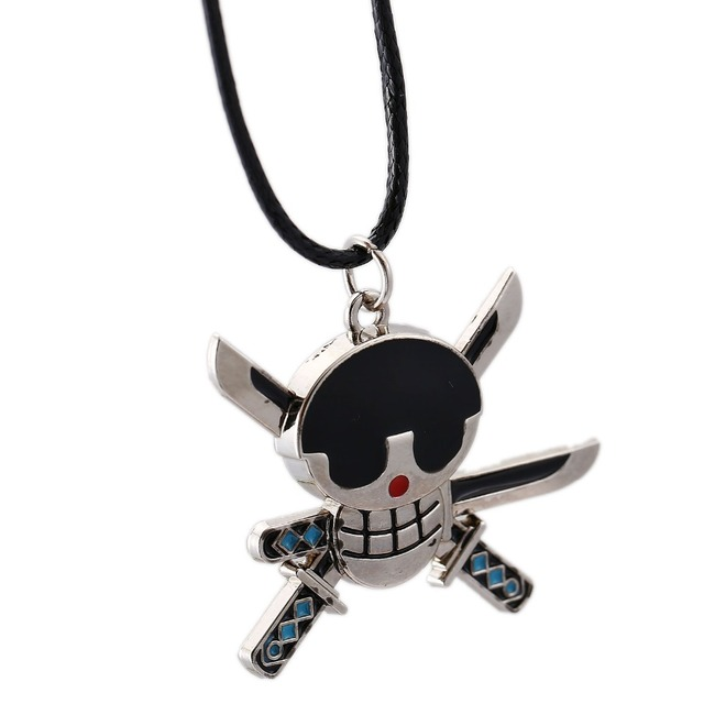 One Piece Pirate Necklace