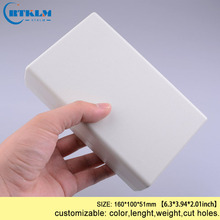 Пластиковый корпус ABS пластиковый ящик для проекта diy чехол для инструментов настольные корпуса для электроники распределительная коробка 160*100*51 мм