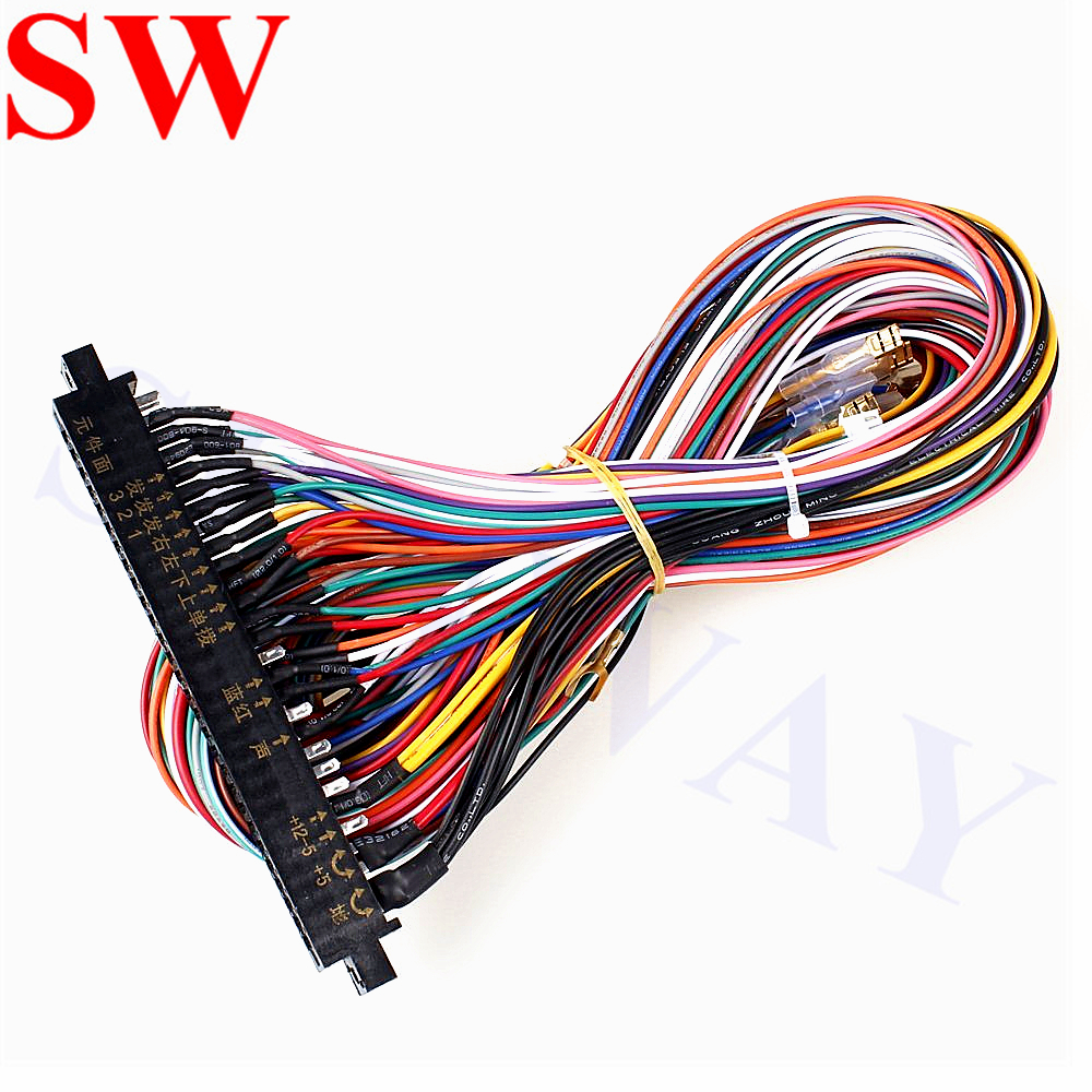 new jamma wiring harness arcade game multicade etc arcade gaming collectibles [ 1000 x 1000 Pixel ]