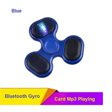 Bluetooth Speaker Fidget Gyro TF Card Music Fingertip Anti Stress