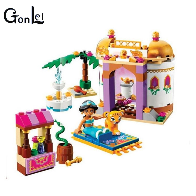 (GonLeI) 10434 Arrivals BELA Building Blocks Friends Dream Series Exotic Palace Princess Girl Educational toys