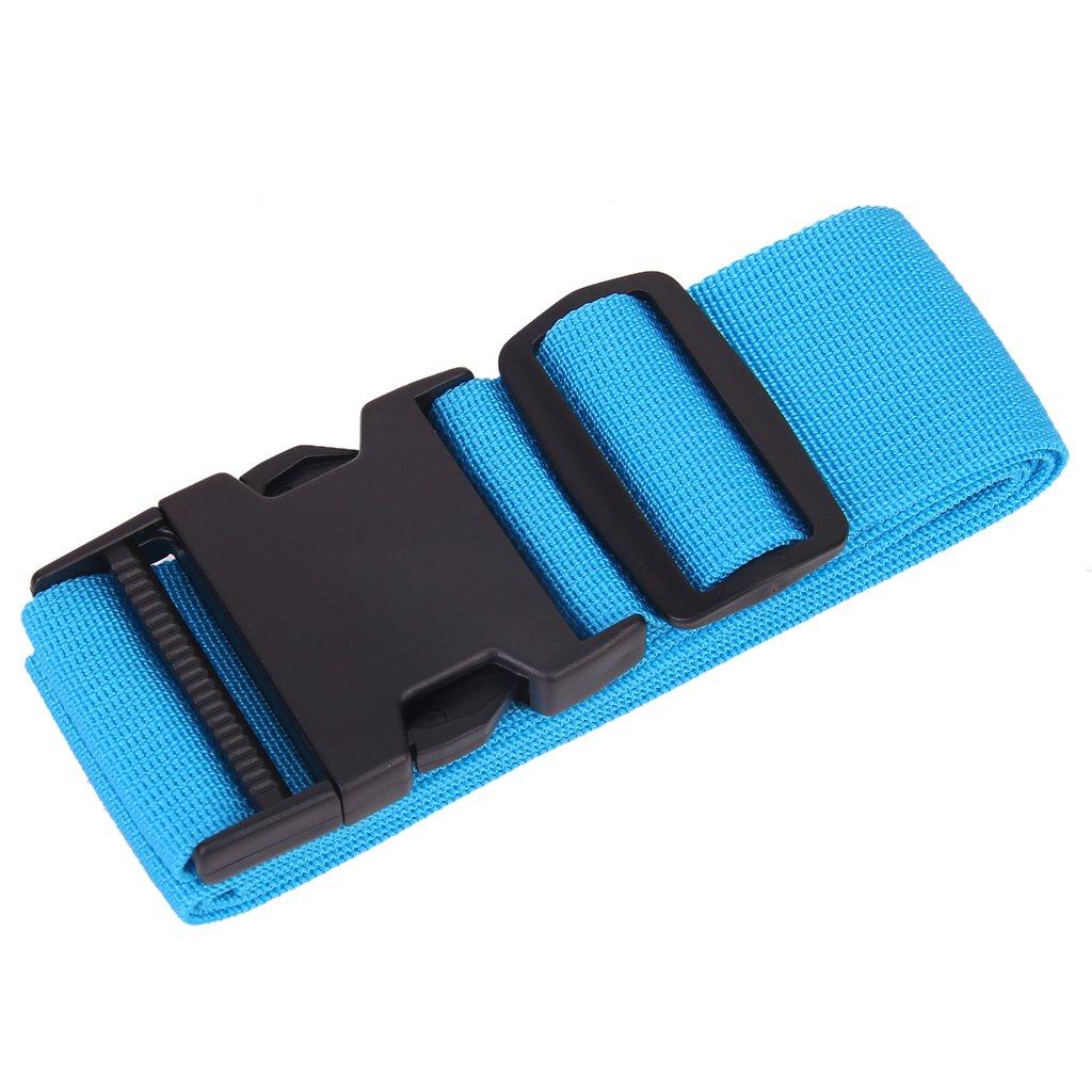 SCYL Packing Belt Suitcase Strap Safety luggage Strap deepskyblue