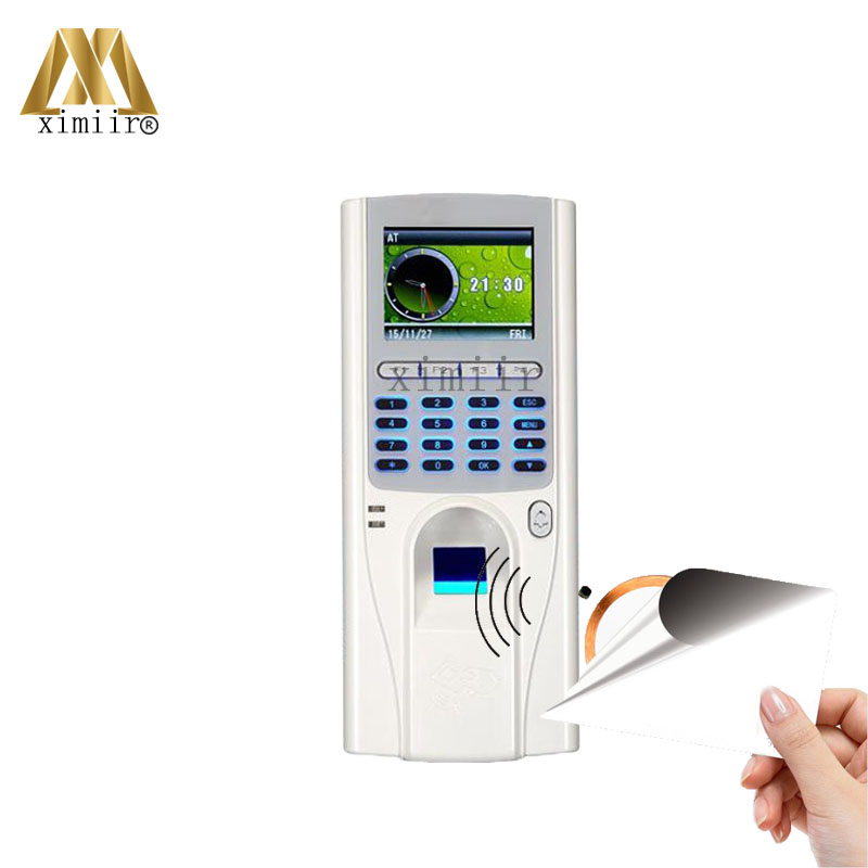 все цены на Free Software ZK XM33 Biometric Fingerprint Access Control With 12.56MHZ MF IC Card Reader TCP/IP Fingerprint Time Attendance