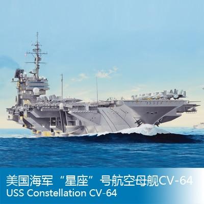 Assembly model Trumpet model 1/350 US constellation CV-64 Warship Toys mexx туалетная вода mexx woman туалетная вода 40 мл