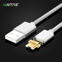 Mantis Magnetic Cable Fast charging Nylon Micro Usb Cable for Android Samsung Huawei XiaoMi Cable magnetic charger