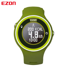 EZON sport utility wearable intelligent men and women watch waterproof electronic pedometer running 24 hours instructions
