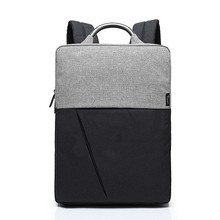 Fashion Men Backpack Canvas Waterproof Business Casual Back Pack Schoolbag Laptop Computer Bag for Male Boy