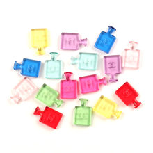 LF 20Pcs Mixed Resin Perfume Bottle Decoration Crafts Flatback Cabochon Kawaii DIY Embellishments For Scrapbooking Accessories