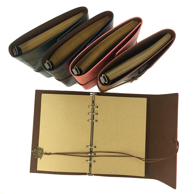 RuiZe Vintage notebooku A5 kožené cestování denní cestující - Bloky a záznamní knihy - Fotografie 3