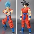 Dios Dragon Ball Z Figuras de Acción Goku Super Saiyan SHF 150mm Anime Dragonball Z DBZ Cifras Esferas Del Dragón S. H. Figuarts