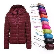 5XL 6XL 7XL חורף נשים קל במיוחד ברווז למטה מעיל נשים ארוך שרוול מעילים חם סלעית מעיל Parka נקבה להאריך ימים יותר בתוספת גודל