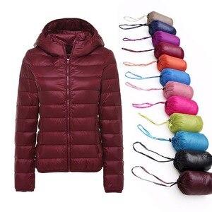 Image 1 - 5XL 6XL 7XL חורף נשים קל במיוחד ברווז למטה מעיל נשים ארוך שרוול מעילים חם סלעית מעיל Parka נקבה להאריך ימים יותר בתוספת גודל