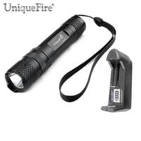 UniqueFire Cree XML T6 Led Flashlight 1000LM High Power Led Taschenlampe CREE Flash Light 3 Modes