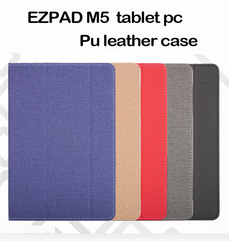 все цены на Fashion PU leather Protective Folding Folio Case for EZpad M5 for 10.1inch Tablet PC CHUWI HI9 AIR Cover Case
