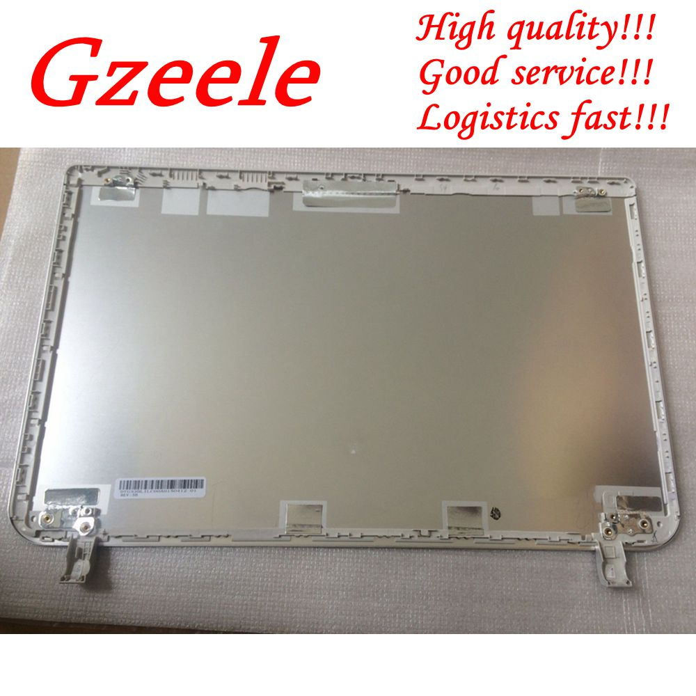 GZEELE New Top case for <font><b>Toshiba</b></font> for Satellite <font><b>L50</b></font>-B L55-B S55T-B S55-B LCD <font><b>COVER</b></font> B1BLI0RC02S0 33BLILC00A0 Back <font><b>cover</b></font> Silver image
