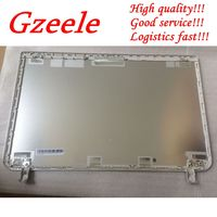 GZEELE New Top case for Toshiba for Satellite L50 B L55 B S55T B S55 B LCD COVER B1BLI0RC02S0 33BLILC00A0 Back cover Silver
