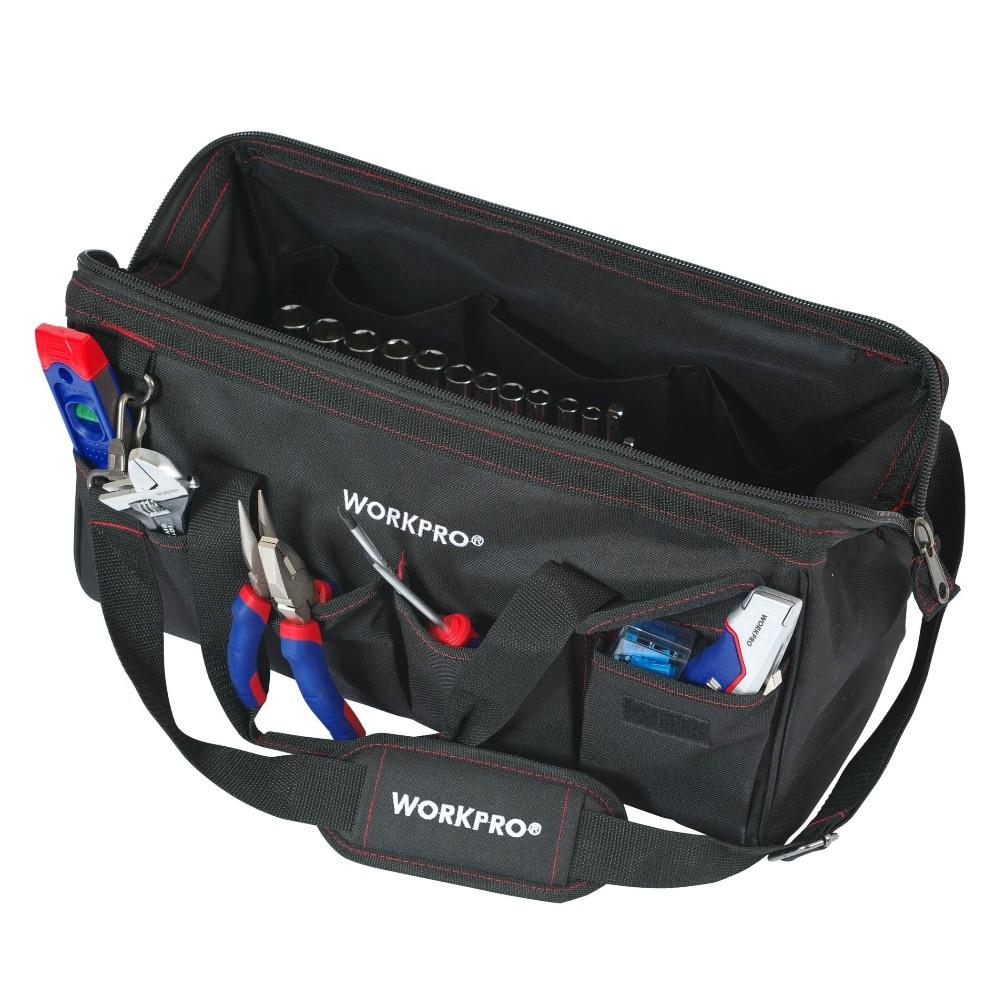 Купить с кэшбэком WORKPRO 322PC Tool Set Hand Tools Home Repair Tool With Tool Bag
