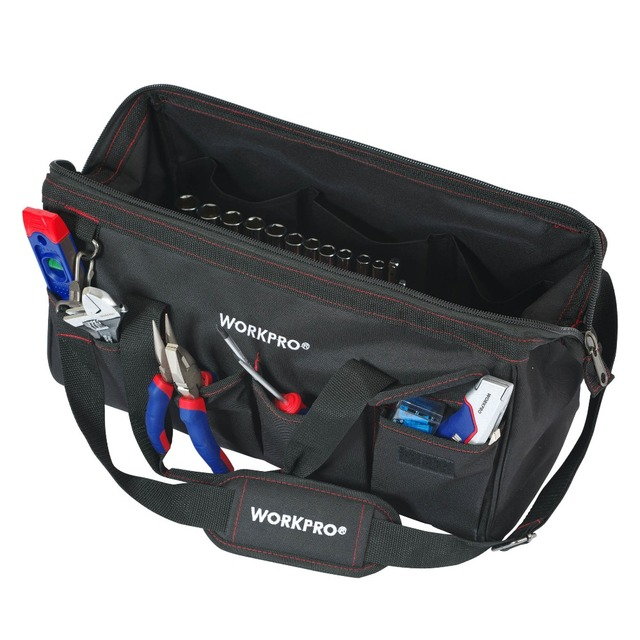 WORKPRO 322PC Tool Set Hand Tools Home Repair Tool With Tool Bag 5