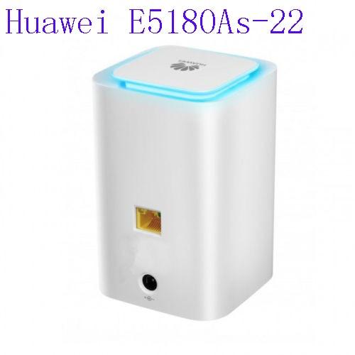Lot de 20 pièces débloqué Huawei E5180 E5180As-22 4G LTE Cube WiFi Hotspot maison routeur sans fil wifi modem 4g