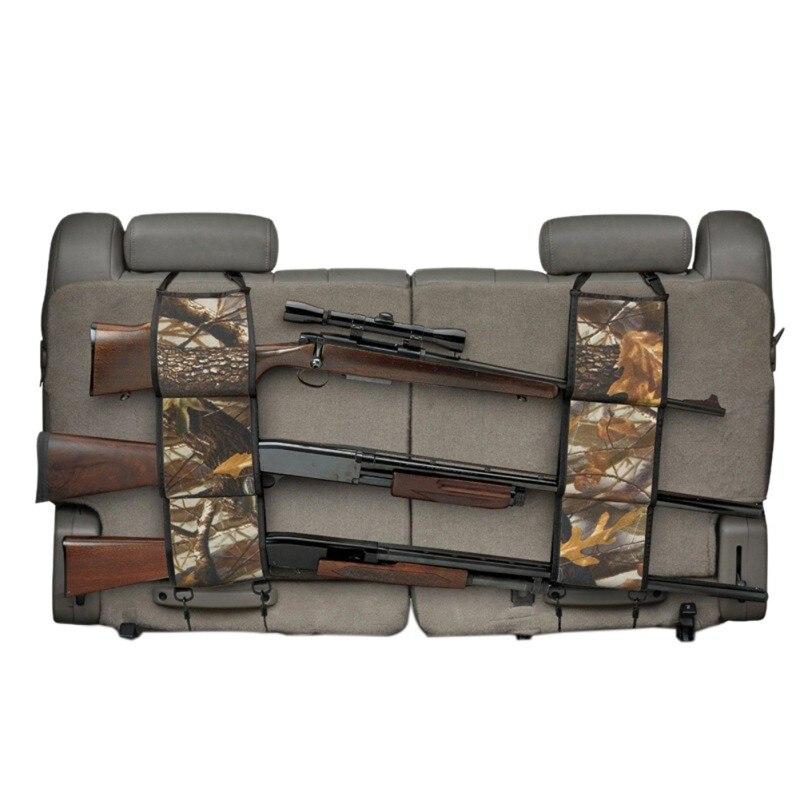2 PCS New Multi-Functional Camouflage Hunting Bag Hunt Equipment Kits Car Rear <font><b>Seat</b></font> Belt Gun <font><b>Rack</b></font> Outdoor Using V2