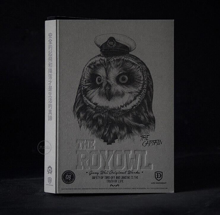 o livro de esbocos b5 268 p da edicao limitada da serie da coruja real com