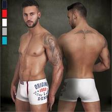 2bcadfbc90490 new style 1982 printed 5 colors underwear men 100% cotton sexy boxers  comfortble cueca shorts