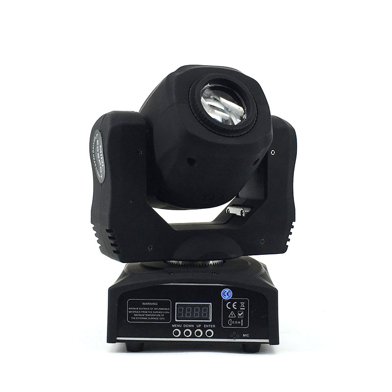 Factory Outlet LED 60W Moving Head Gobo Light Spot Rotation Home Entertainment Light Fixture For Professional Stage & Dj Disco 2017 hot 30w spot gobo moving head light led moving head spot stage lighting disco light professional stage
