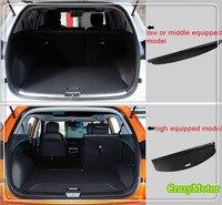 Car Rear Luggage Cargo Cover Parcel Shelf For Hyundai Creta IX25 1.6 2.0 2014 2015 2016 2017 Auto accessories car cover