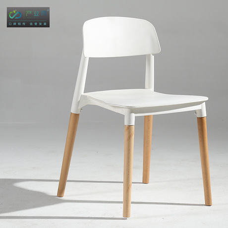 Living Room Chairs Living Room Furniture Home Furniture wood+ABS dining chair chaise fauteuil Fashion Nordic Coffee Lounge Chair