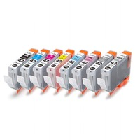 XIMO CLI 42 Compatible Ink Cartridge for Canon Pixma Pro 100 printer, 8 pack