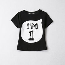 2017 New Kids Boy Girl Child T-shirt Tee Tops Family Matching Birthday Clothes Im 1 2 3 4