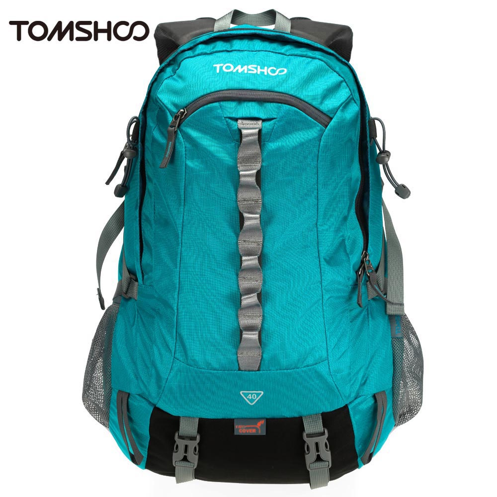 цена TOMSHOO 40L Outdoor Sport Backpack Nylon PolyesterHiking Trekking Bag Camping Travel Pack Mountaineering Climbing Knapsack