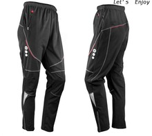 New Men' Thermal Winter Cycling Waterproof Pants Bike/Bicycle Sports Outdoor Windproof Trousers C4004