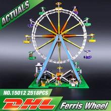 DHL LEPIN 15012 2478Pcs City Expert Ferris Wheel Model Building Kits Blocks Bricks Toys Compatible 10247