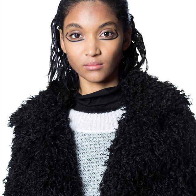 96a0cdaab33 Online Shop 2017 Street Style Faux fur coat women long sleeve casual ...