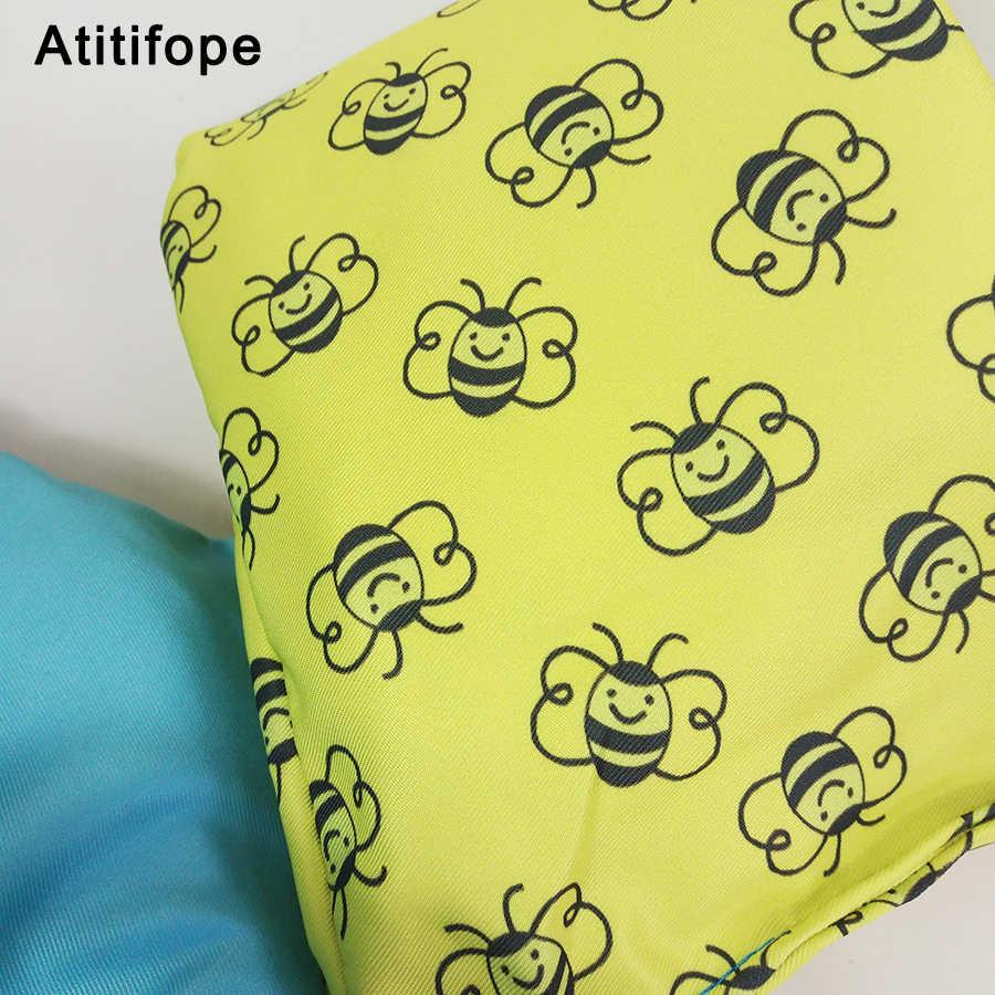 Маленький пчелиный узор безопасный большой плавучий яркий цвет ребенок плавать ming надувные нарукавники Обучение Плавать Жилет Плавание ming бассейн аксессуары