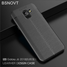 For Samsung Galaxy J6 2018 Case J600G Cover Soft Silicone TPU Leather Anti-knock Phone Case For Samsung Galaxy J6 2018 EU BSNOVT все цены