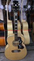 2018 China Factory New Solid Spruce Top Two Sides And Back Leaf Streaks 43 J200P Free